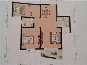 中央山水2室 2厅 1卫45万元