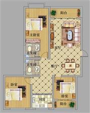 祥瑞苑小区有3室 2厅 2卫房屋数套预售