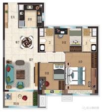 碧桂园玖珑湾3室 2厅 2卫54万元