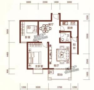 (好便宜的房子))龙翔国际2室 2厅 1卫46万元