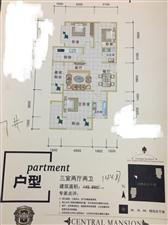 中央公馆3室 2厅 2卫