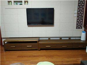 便宜处理全新新中式茶几,电视柜,中式椅子