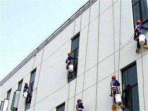 专业楼房外墙瓷砖清洗,高空玻璃幕墙清洗