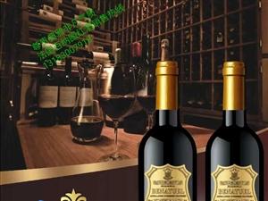 法国百纳图红酒