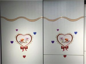 榕山叶玻璃装饰