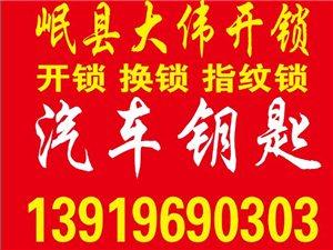 岷县大伟开锁汽车钥匙4S店