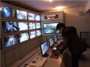 滑县政府联网扬尘检测、高清监控、楼宇对讲、网络布线