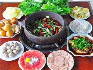 习水豆腐皮火锅(锅底+豆腐皮+蔬菜+米饭=9元/位