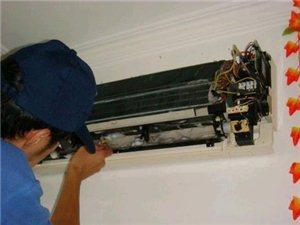 专业空调安装,维修,清洗,加氟等