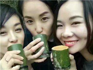 原生態綠色竹酒
