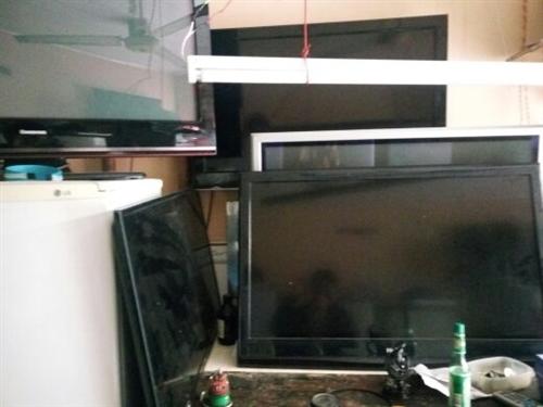 出售各品牌二手液晶电视机!有售后!有保修!