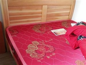 全新1.5床带床垫出售