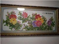十字绣,花开富贵,便宜