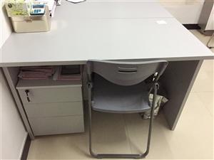 出让办公桌和桌下柜