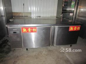 出售厨房器具保温台双控冰箱售饭台池塘