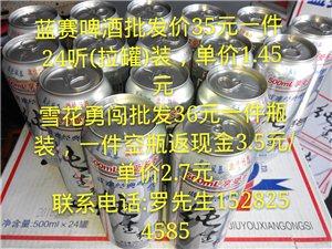 迎新年  啤酒批发促销活动大酬宾