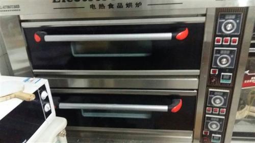兩層四盤電烤箱
