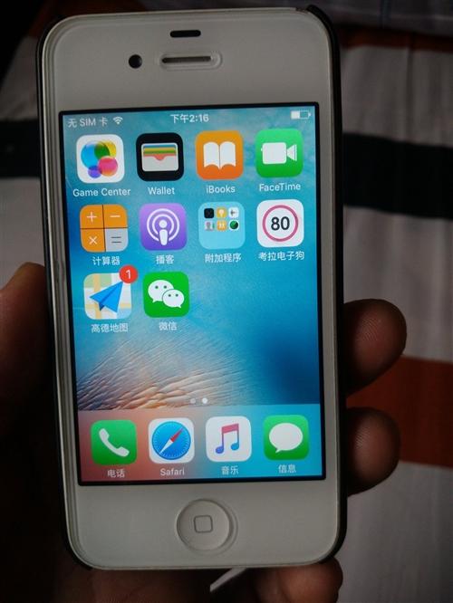 八成新正版苹果4s出售