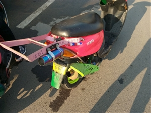 出售一台雅马哈巧格100cc
