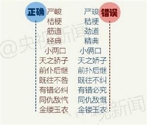100个最易写错的汉字