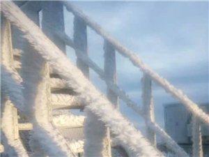 2017年第一场雪,快来寻乌基隆嶂看雾淞雪景吧!