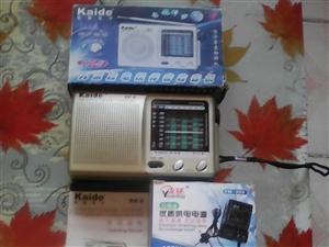 一台带电源适配器(也称电压稳定器)的九波段收音机卖