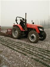 沭河1204拖拉机带挖药机深耕机等全套设备出售