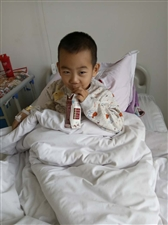 求大家帮帮这个白血病小男孩