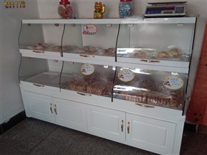 蛋糕面包2米展柜转让