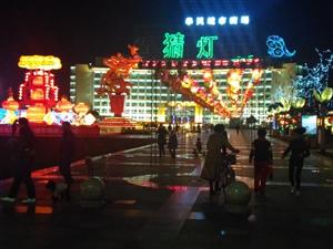宁国市政府夜景很美