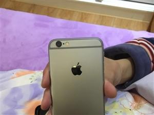 出售自用苹果6黑色,16g,港版