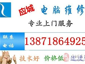 應城上門電腦維修138-7186-4925
