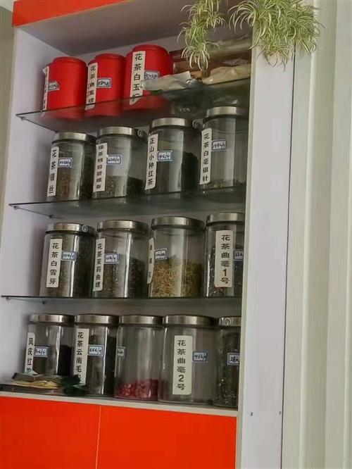 店鋪轉了,剩下展柜和茶葉罐轉讓