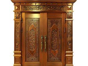 專業制作智能古典銅門