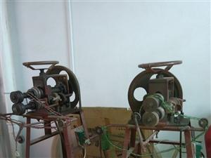 本人出售两台铁皮粮仓机器!
