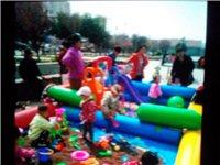 3乘6米18平米充气沙池,玩具15套,海洋球1500个,儿童滑梯一套,决明子150斤,由于时间问题无...