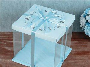 中高端透明蛋糕盒