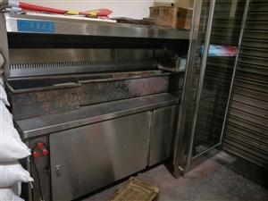 出售二手烧烤净化炉