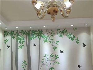墙面脏了能擦洗,给家一面涂鸦墙。旭泥肌理壁膜墙衣