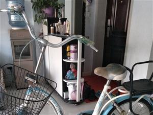 出售二手自行车,合适女性冤家。