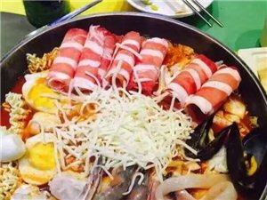 吃年糕火锅送炸鸡