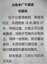 出售雄安新区的李广村东宅基地