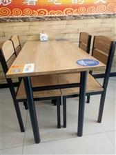 本店有一些桌椅因為買多了一直沒用過現在想便宜處理了。原價360元一套現價200元一套,數量不多。有意