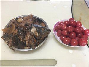 白洋淀农家饭(家常清炖大鲤鱼)!