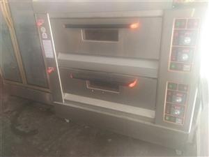 燃气烤箱两层四盘