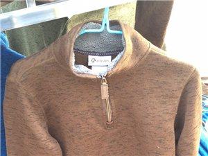 大量批发零售男士加绒T恤