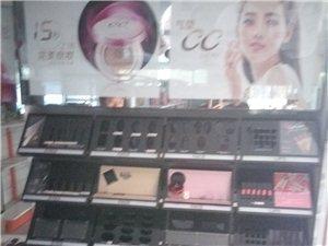 出售彩妆架,化妆品展架,中倒柜