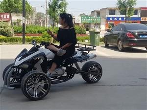 摩托车,倒三轮