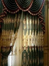 【卖窗帘】有装修,要做窗帘的朋友可以联糸我,专业制作,品牌保证