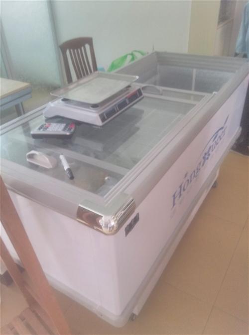招遠幾乎全新冷鮮柜便宜處理
